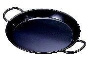 鉄パエリア鍋(両手) 70cm【鉄】【鉄鍋】【鉄なべ】【鉄黒皮】【両手鍋】【業務用】