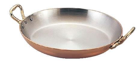 モービルカパーイノックス両手パエリア鍋 6527.20 20cm 【銅鍋】【業務用鍋】【Mauviel】【業務用】