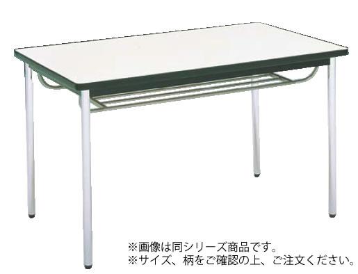 テーブル(棚付) MT2716 (C)ホワイト【代引き不可】【会議室テーブル】【食堂用テーブル】【会議テーブル】【業務用】