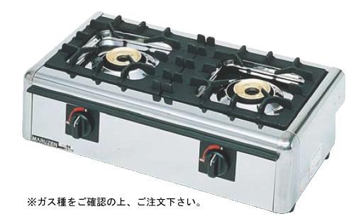 ニュー飯城(自動点火) M-822E 13A (ガス種:都市ガス)【代引き不可】【焜炉】【熱炉】【業務用】