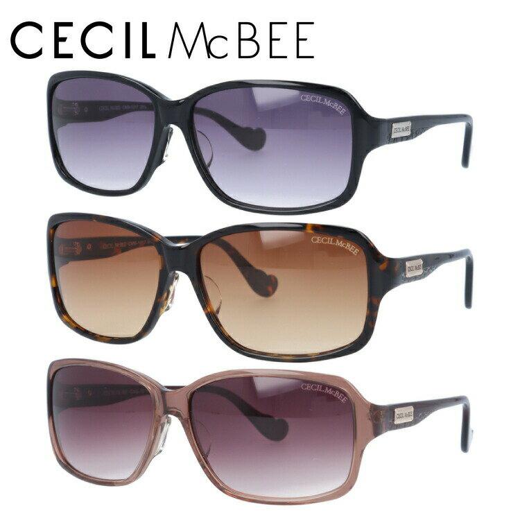 セシルマクビー サングラス CECIL McBEE CMS1017-1/CMS1017-2/CMS1017-3 レディースブランド 女性 UVカット アイウェア