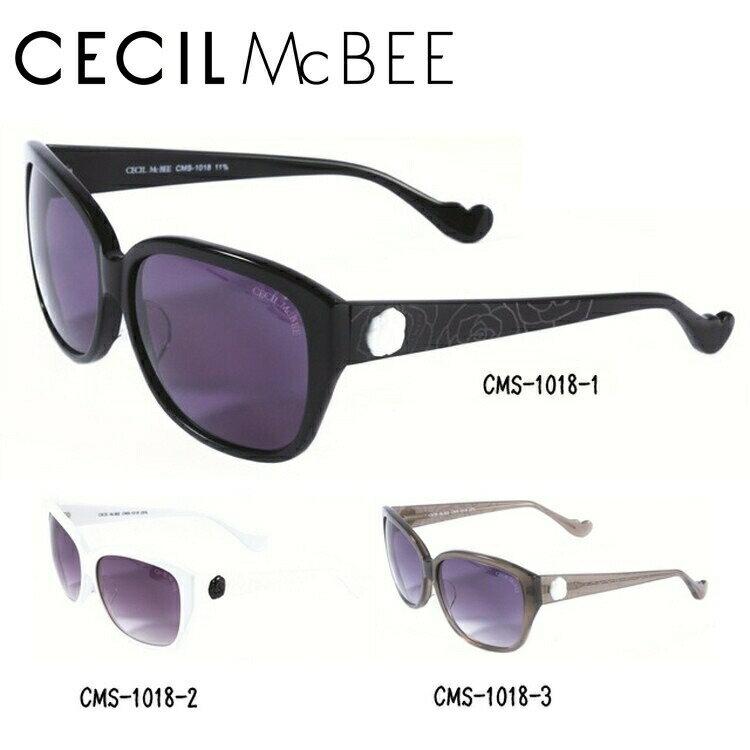 セシルマクビー サングラス CECIL McBEE CMS1018-1/CMS1018-2/CMS1018-3 レディースブランド 女性 UVカット アイウェア