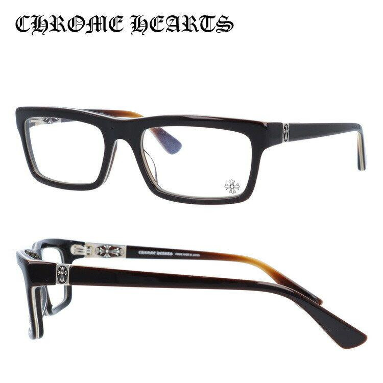 クロムハーツ Chrome Hearts 眼鏡フレーム メガネ クロス PENETRANUS BRBBR Brown Bone Brown メンズ レディース UVカット