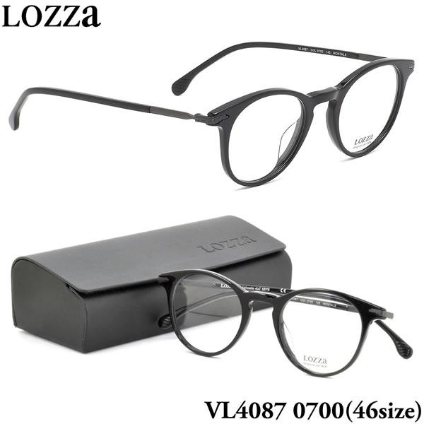 【ロッツァ】 (LOZZA) メガネVL4087 0700 46サイズMONTALE LOZZA メンズ レディース