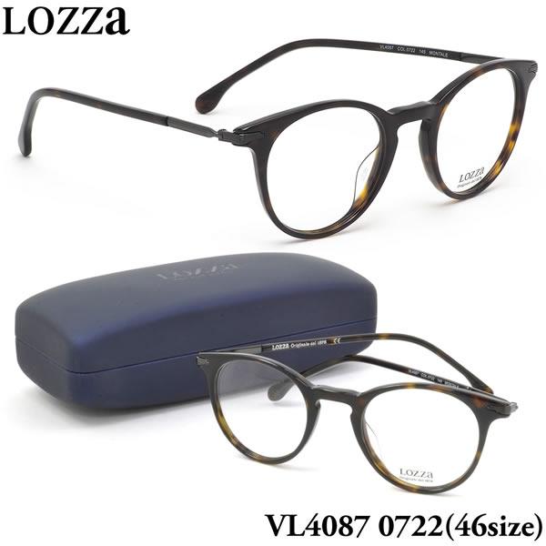 【ロッツァ】 (LOZZA) メガネVL4087 0722 46サイズMONTALE LOZZA メンズ レディース