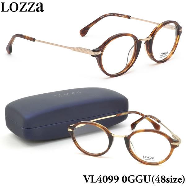 【ロッツァ】 (LOZZA) メガネVL4099 0GGU 48サイズBACCHELLI LOZZA メンズ レディース