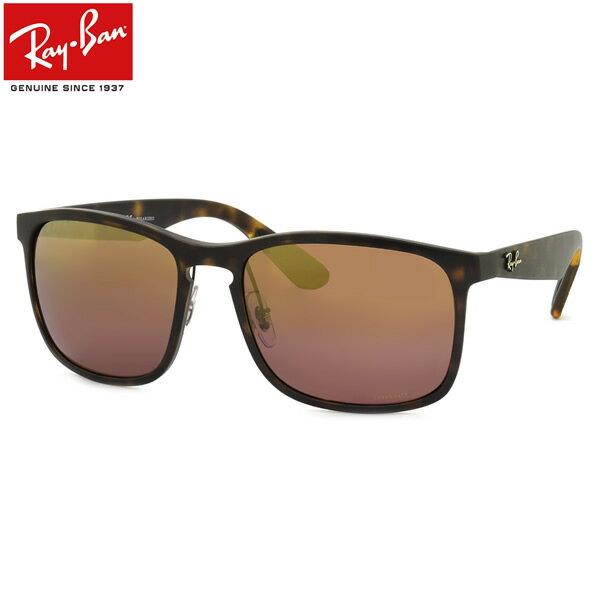 レイバン サングラス ミラー 偏光 クロマンス Ray-Ban RB4264 894/6B 58サイズレイバン RAYBAN CHROMANCE LENSES 8946B WAYFARER ウェイファーラー べっ甲 べっこう 偏光レンズ 偏光サングラス メンズ レディース