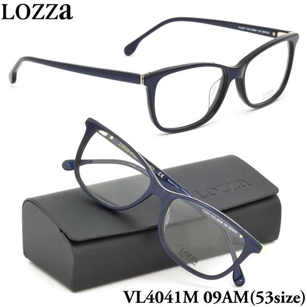 【LOZZA】ロッツァ 眼鏡 メガネ フレーム VL4041M 09AM 53サイズ SERAO ボストン メンズ レディース