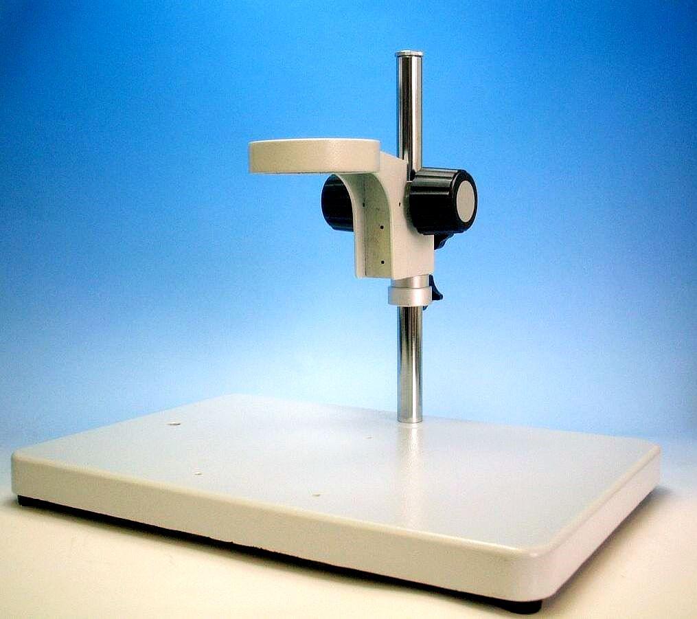 顕微鏡用ワイドベーススタンド(アングル付) GR1040G-75 【送料無料】