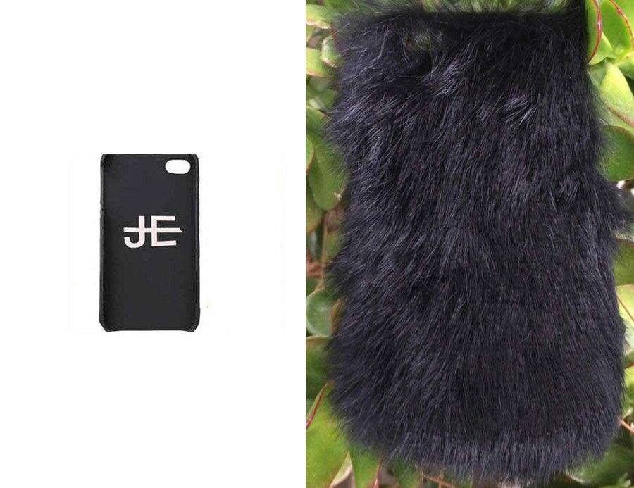 【iPhone6ケース】ジャガーエッジ(Jagger Edge)ラビットファーiPhone6ケース/IPHONE COVER BLACK FUR(ブラック)【正規品】【あす楽対応_関東】02P28Sep16【楽ギフ_包装】【あす楽_土曜営業】【送料無料】
