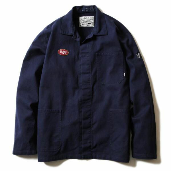 【お取り寄せ / ご注文後5~10日でお届け】 RULER (ルーラー) WASHED 50S COVERALL ルーラー ジャケット カバーオール シャツ