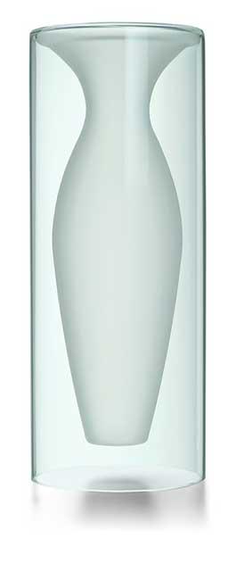 PHILIPPI(フィリッピ) エスメラルダベース 花瓶 L インテリア/花瓶/フラワー/花/ギフト/プレゼント