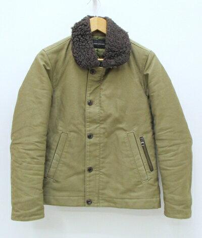 【中古】LOUNGE LIZARD/ラウンジリザード N-1デッキジャケット サイズ:1 カラー:カーキ / ドメス