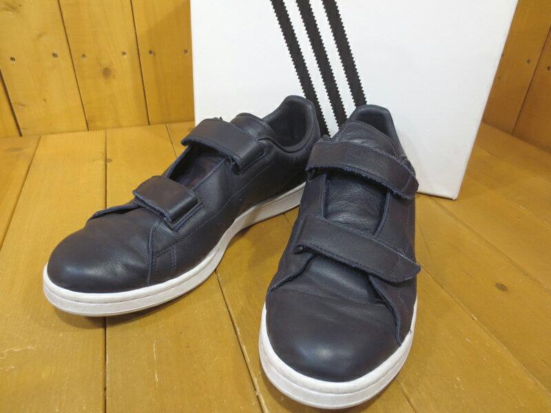 【中古】adidas Originals by HYKE/アディダスオリジナルスバイハイク S79345 AOH-005 ベルクロ レザースニーカー サイズ:28.5cm カラー:ナイトネイビー