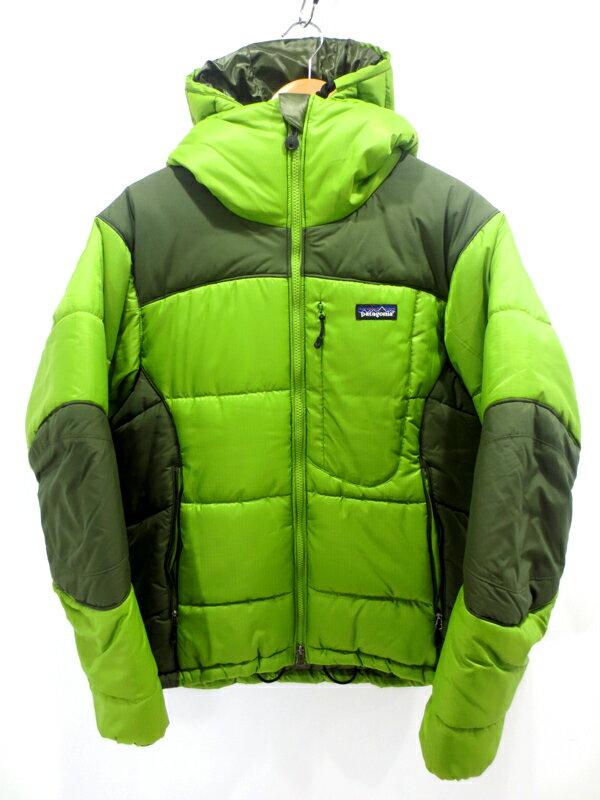 【中古】patagonia/パタゴニア ダスパーカ サイズ:XS カラー:グリーン系 / アウトドア
