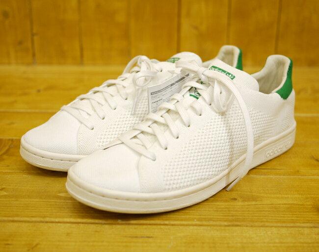 【中古】adidas/アディダス STAN SMITH OG PK/スタンスミス プライムニット サイズ:27.0cm カラー:ホワイト