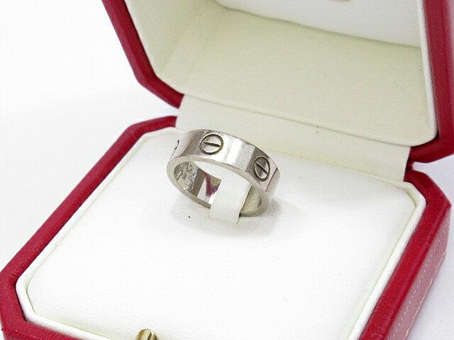【中古】Cartier/カルティエ ミニラブリング 指輪 サイズ:#9