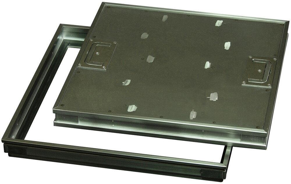 ファースト ステンレス フロアーハッチ 樹脂タイル用、歩道用 FP-450 蓋寸W450×D450mm