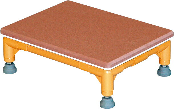 ステップ台 1段(中) CHA-2 H12.5×W50×D30cm 質量:2.5kg アイボリー[※代引不可]