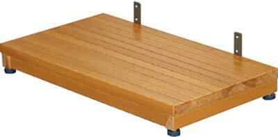 木製ステップ台 1段 TST-04A H10~8×W60×D35cm 質量:3.6kg [※代引不可]