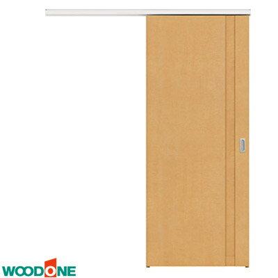 室内ドア 内装ドア 【WOODONE/ウッドワン】アウトセット吊り戸セット【錠有りタイプ】(上吊り・デザインF-XK/F-LK) ソフトアート