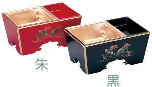 【香炉・仏具】各ご宗派でお使いいただけます  木製 角香炉 銅落とし 7.0寸 (仏具・香炉)【10P02jun13】【RCP】