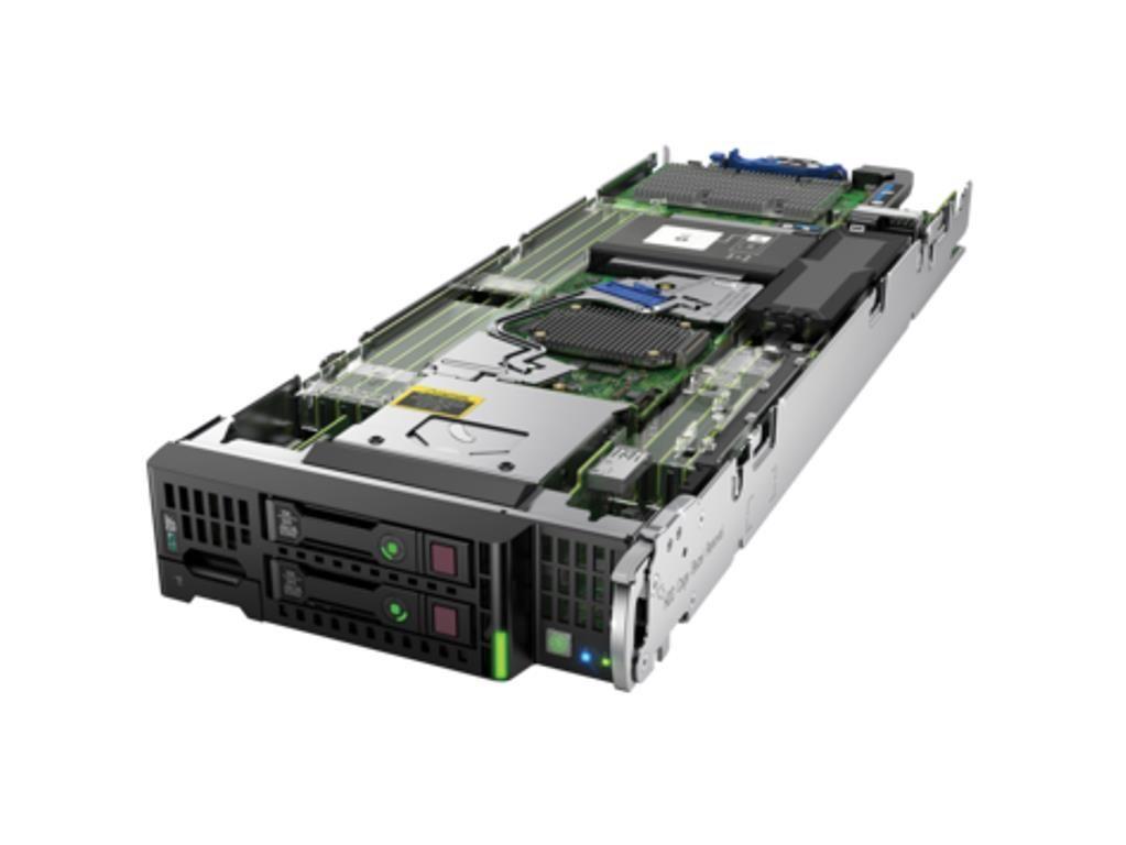 【新品/取寄品】BL460c Gen9 Xeon E5-2690 v4 2.60GHz 1P/14C 32GBメモリ ホットプラグ P244br/1GB FBWC モデル Q0B84A
