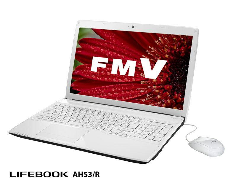 【新品/取寄品】FMV LIFEBOOK AH53/R FMVA53RW アーバンホワイト