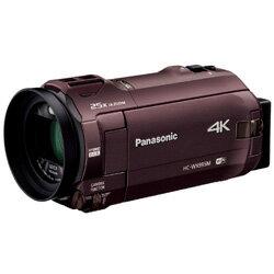 【新品/取寄品】デジタル4Kビデオカメラ HC-WX995M-T ブラウン