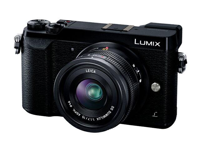 【新品/取寄品】LUMIX DMC-GX7MK2L-K 単焦点ライカDGレンズキット ブラック