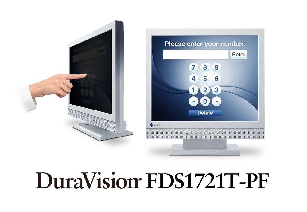 【新品/取寄品】17.0インチモニター(1280x1024/DVI-D 24ピン(HDCP対応)x1/D-Sub 15ピン(ミニ)x1/セレーングレイ) FDS1721T-PF