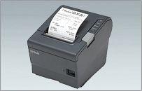 【新品/取寄品】業務用小型レシートプリンタ TM-T88V(80mm幅/パラレル/ダークグレー) TM885UP871