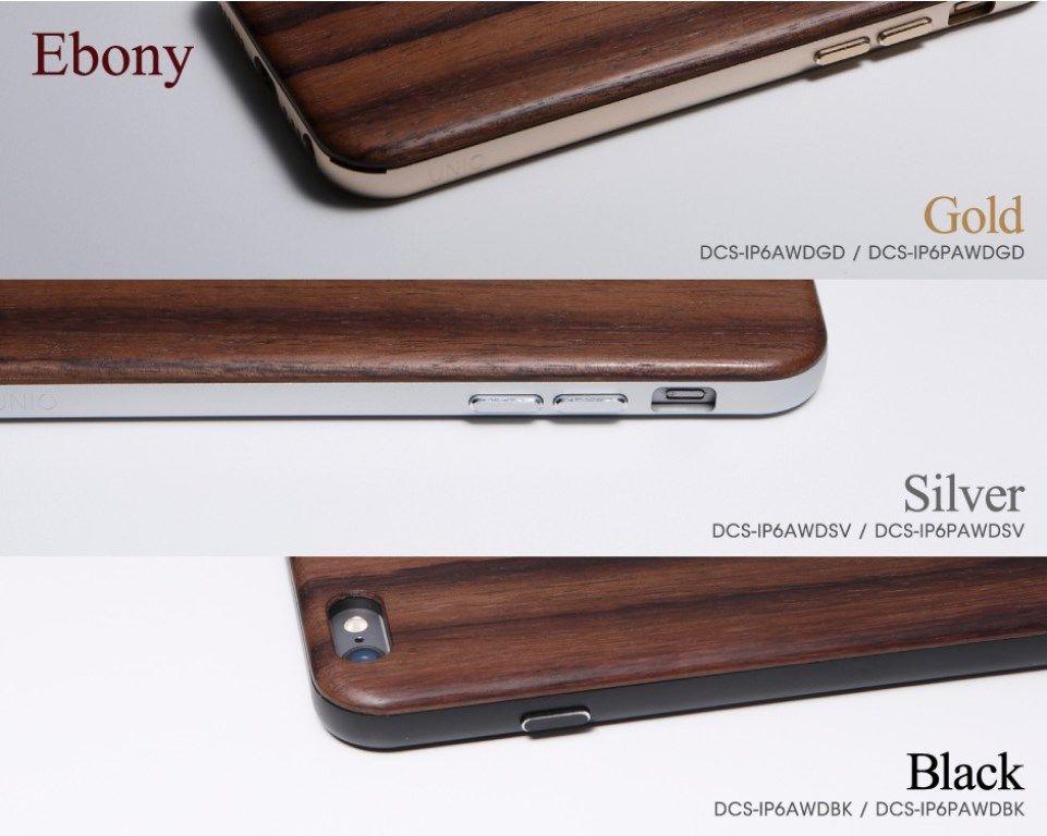 【新品/取寄品】Hybrid Case UNIO for iPhone6 Plus Ebony Black DCS-IP6PAWDBK