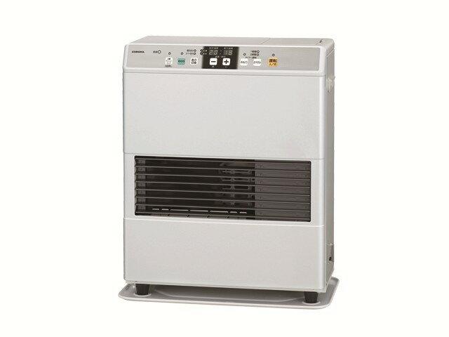 【新品/取寄品】FF式温風暖房機 標準タイプ カートリッジタンク式 FF-VG4215Y(W) ナチュラルホワイト