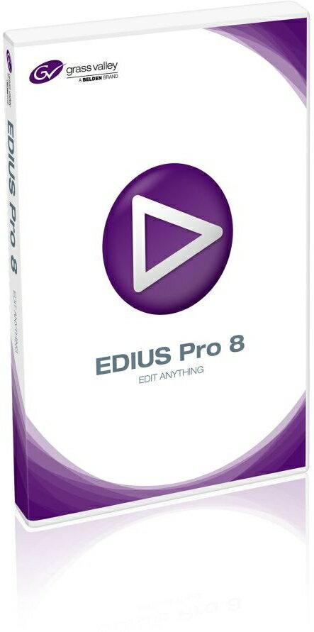 【新品/取寄品】EDIUS Pro 8 通常版 EPR8-STR-JP