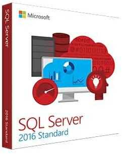 【新品/取寄品】Microsoft SQL Server Standard Edition 2016 Japanese 4 Licenses DVD Core License 228-10599