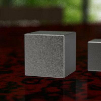 [注意:代金引換不可]高比重金属のペーパーウェイト[素材:ヘビーウェイトHV18][形状:立方体][サイズ:40×40×40mm][重量:約1150g]