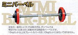 【送料無料】【代引手数料無料】ダンノ(DANNO)ミニバーベル15kgセット