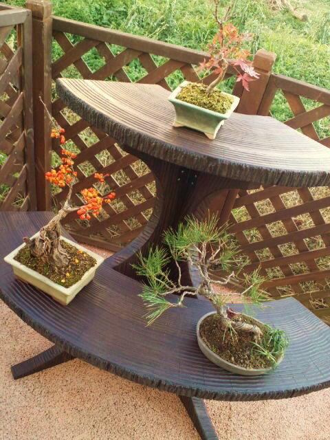 屏風型 盆栽スタンド