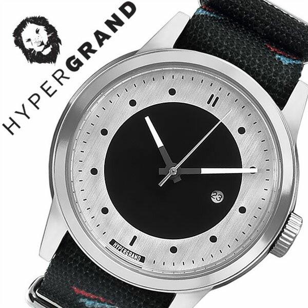 ハイパーグランド 腕時計[ HYPERGRAND 時計 ]ハイパー グランド 時計[ HYPER GRAND 腕時計 ][ハイパーグラウンド]マーベリック シリーズ ナトー MAVERICK SERIES NATO メンズ/レディース/シルバー NWM4AVIA [人気/ブランド/ナイロン ベルト/ブラック/おしゃれ][送料無料]
