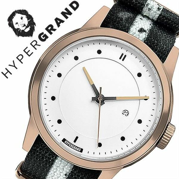 ハイパーグランド 腕時計[ HYPERGRAND 時計 ]ハイパー グランド 時計[ HYPER GRAND 腕時計 ]マーベリック シリーズ ナトー MAVERICK SERIES NATO メンズ/レディース NWM4RUNW [人気/ブランド/ナイロン ベルト/ピンクゴールド/シンプル/北欧/デザイナーズ ウォッチ][送料無料]