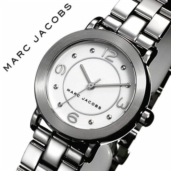 マークジェイコブス 腕時計[MARCJACOBS 時計]マーク ジェイコブス 時計[MARC JACOBS 腕時計] ライリー RILEY レディース/ホワイト MJ3472 [人気/新作/流行/ブランド/防水/メタル ベルト/マークバイマークジェイコブス/ギフト/プレゼント][送料無料]