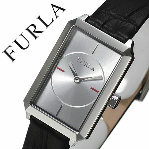 フルラ 腕時計[FURLA 時計]フルラ 時計[FURLA 腕時計] ダイアナ DIANA レディース/シルバー R4251104505 [人気/新作/流行/ブランド/イタリア/女性/かわいい/防水/革/レザー ベルト/ギフト/プレゼント/ブラック][送料無料]