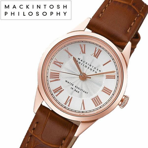 【5年保証対象】マッキントッシュフィロソフィー 腕時計[MACKINTOSHPHILOSOPHY 時計]マッキントッシュ フィロソフィー 時計[MACKINTOSH PHILOSOPHY 腕時計]レディース/ホワイト FCAK993[ファッション/おしゃれ/カジュアル/ビジネス/シンプル/レザー/革][送料無料]