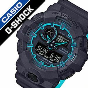 【5年保証対象】カシオ 腕時計[CASIO 時計]カシオ 時計[CASIO 腕時計]ジーショック G-SHOCK メンズ/ブラック GA-700SE-1A2JF[Gショック/ジーショック/おしゃれ/アウトドア/スポーツ/アナデジ/カレンダー/LED/バックライト/ソーラー/電波時計/防水/人気][送料無料]