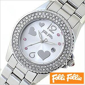 フォリフォリ腕時計[ FolliFollie腕時計 ]フォリフォリ 時計 FolliFollie 時計 フォリフォリ 腕時計 Folli Follie フォリ フォリ FolliFollie時計 フォリフォリ時計 フライングハーツ[Flying Hearts]レディース時計/WF9A049BTS[送料無料]