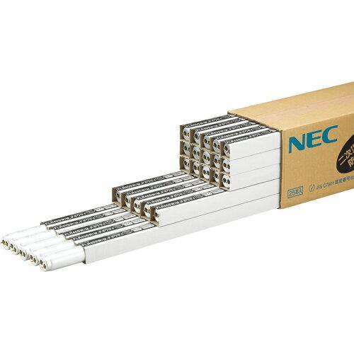 NEC 防災用残光蛍光ランプ 飛散防止タイプ 直管ラピッドスタート形 40W形 白色 FLR40SW/M.Pボウサイ 1パック(25本) 【送料無料】