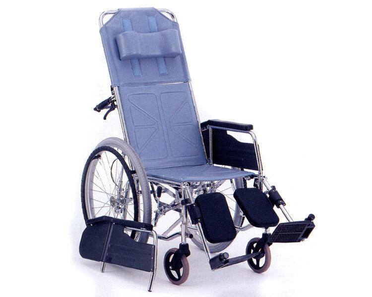 リクライニング車椅子 自走式 CM-50(背・足・別動) 松永製作所介護用品 福祉用具 車いす 車イス リクライニング式車椅子