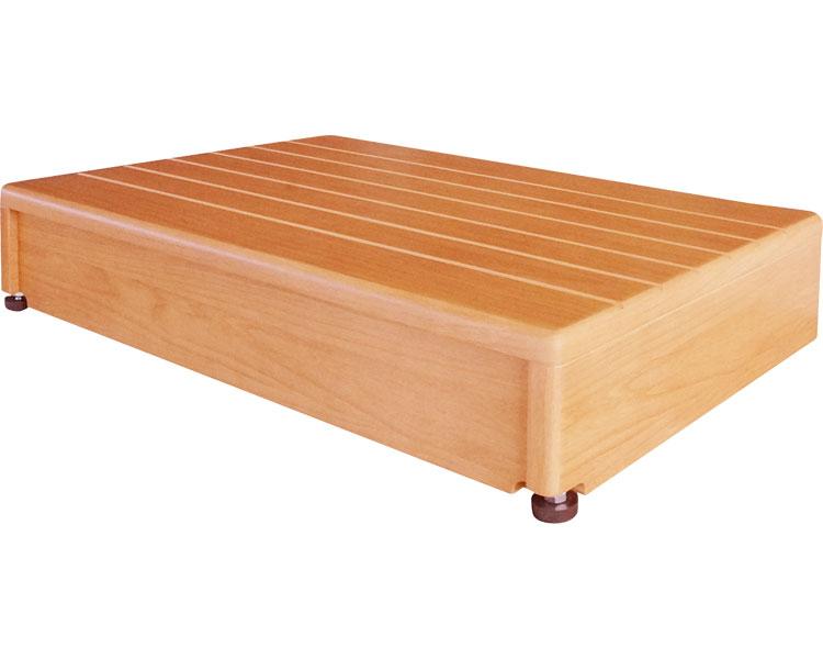 玄関台(木製) 60W-40/640-030 シコク 【RCP】【介護用品】