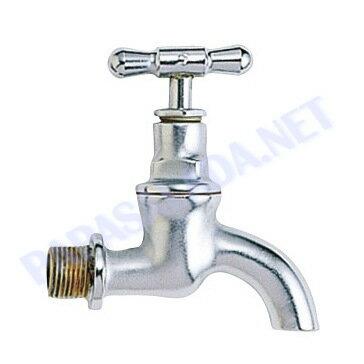 【送料無料】【Essence水栓】ガーデンクラシック水栓,クロームサテン ガーデニング蛇口【05P03Dec16】